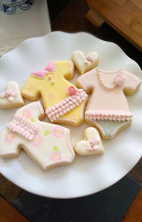 Grenouillère Cookie faveurs-Fashionista Style 12 par MarinoldCakes
