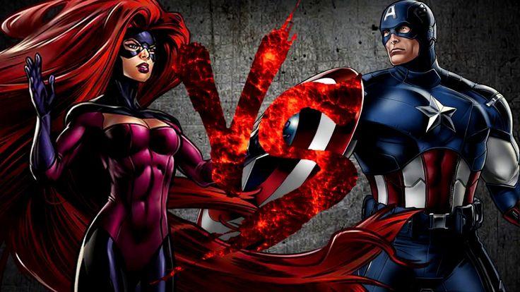 Медуза VS Капитан Америка [CT Fight Club 3.0]