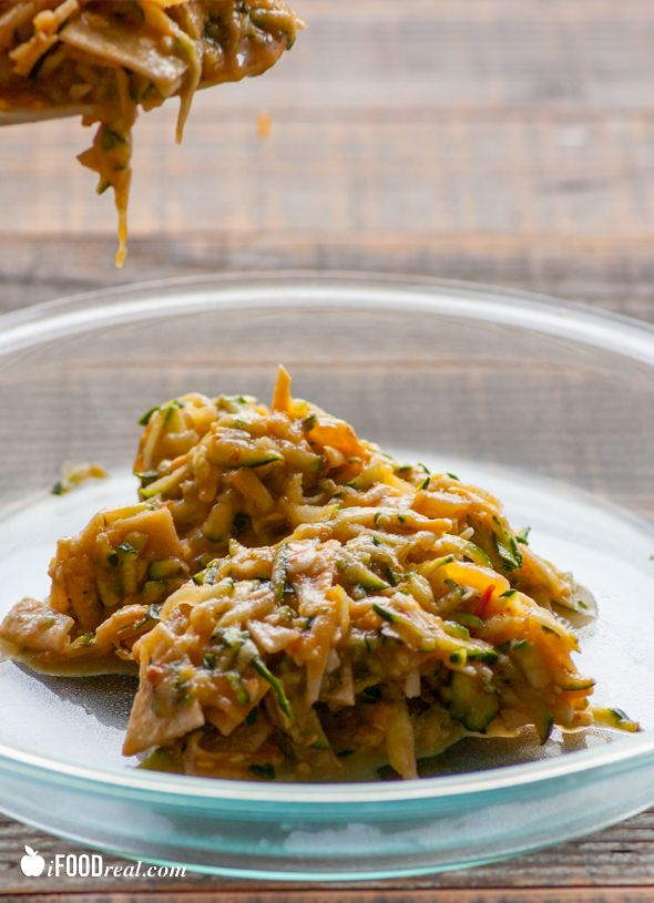 Crustless Zucchini Enchilada Quiche | Recipe