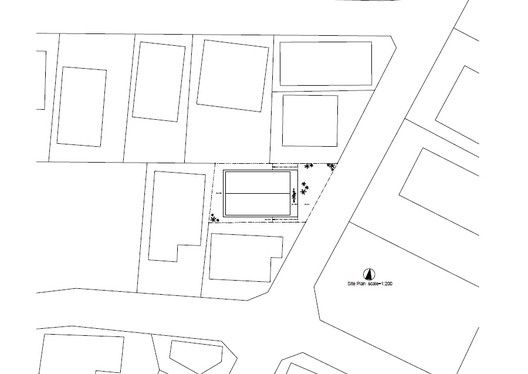 House H,Site Plan