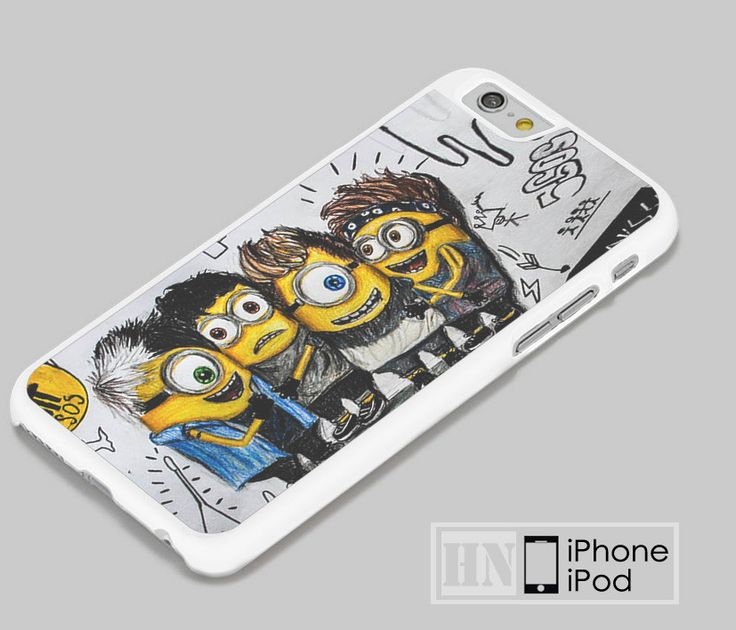 5SOS She Looks So Perfect Minions Samsung, iPhone, HTC One, LG Case
