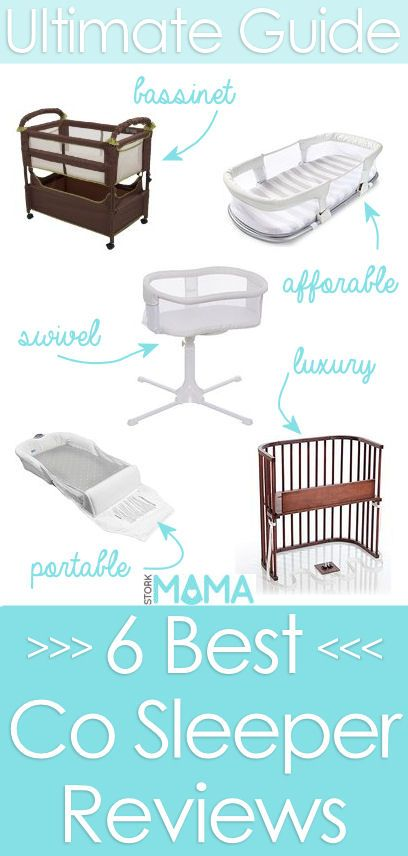 Best co sleeper reviews for your baby. Stork Mama