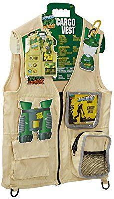 Backyard Safari Toys amazon: backyard safari cargo vest: toys & games | kami