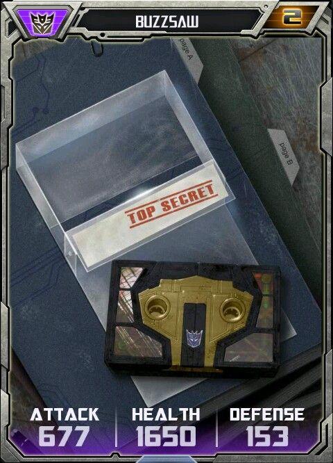 Buzzsaw cassette card