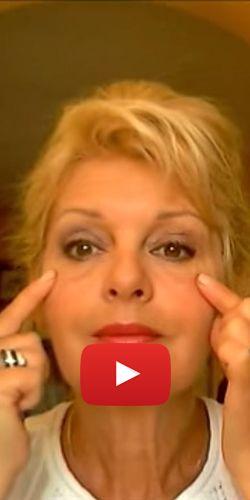 Massage drainant pour rajeunir les yeux. http://rienquedugratuit.ca/videos/massage-drainant-pour-rajeunir-les-yeux/