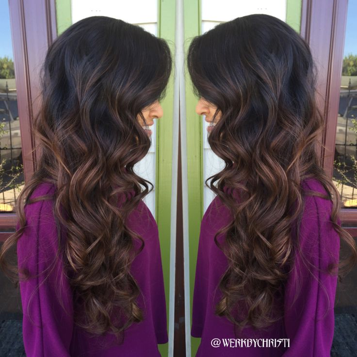 Fall hair. Balayage Ombre. Chocolate balayage . Fall haircolor. Hairstyles