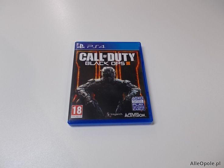 Call Of Duty Black Ops 3 - GRA Ps4 - Opole 0482 (Opole)