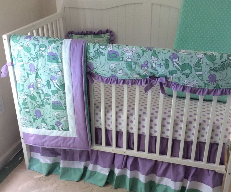 25 Best Purple And Mint Nursery Bedding Ideas For A Baby