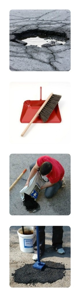 How to Repair Potholes in an Asphalt Driveway