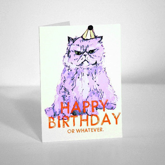 Happy Birthday (or whatever) Greeting Card - Evie Kemp