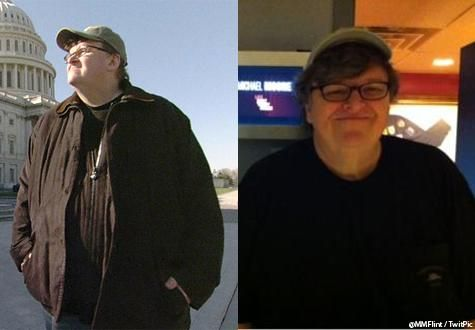 12 Extreme Celebrity Fitness Transformations - Michael Moore
