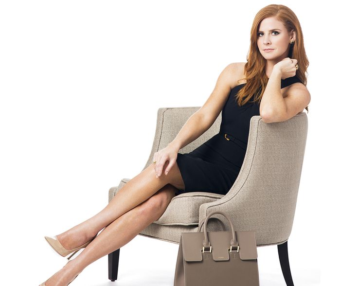 Sarah Rafferty, actress, pairs our Cosima handbag with a Roland Mouret sheath dress & classic Manolo Blahnik heels. See how she styles her bag at www.blog.mezzi.com