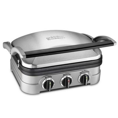 Cuisinart® Griddler® and Waffle Maker with Removable Plates…