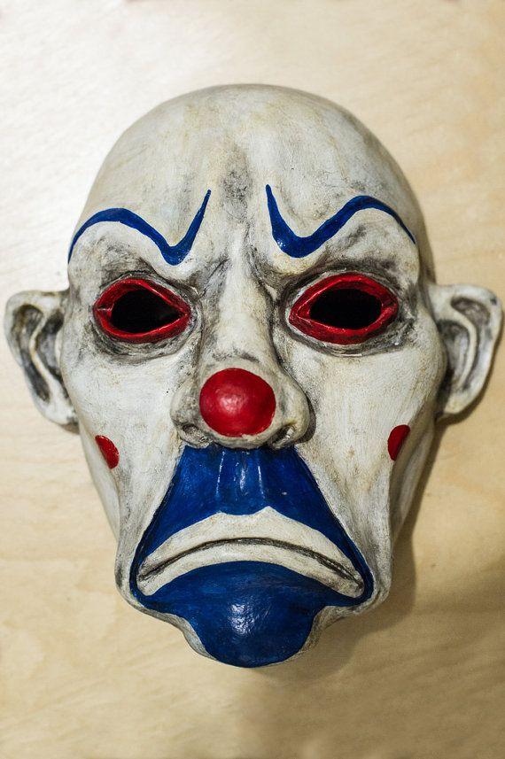 Clown Dark Knight Batman Joker Bane Mask Cosplay Henchmen
