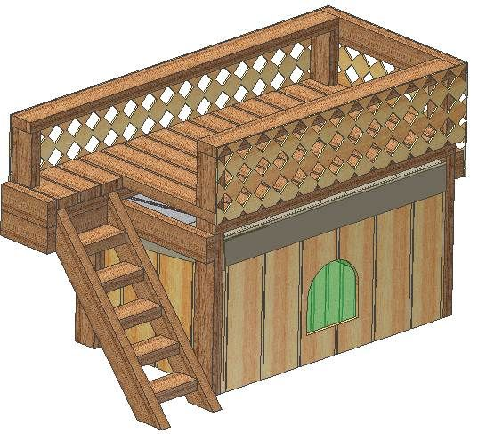 chrome hearts uk online easy diy dog house   Dog House Plans   How to Build a Dog House   Free Woodworking Plans