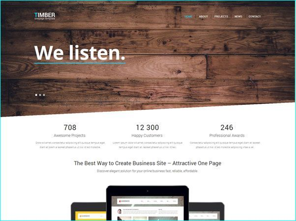 24 best Free Bootstrap HTML Templates For Designers images on ...