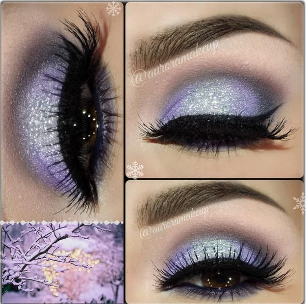 Frosty Lilac Awesome Make-up !