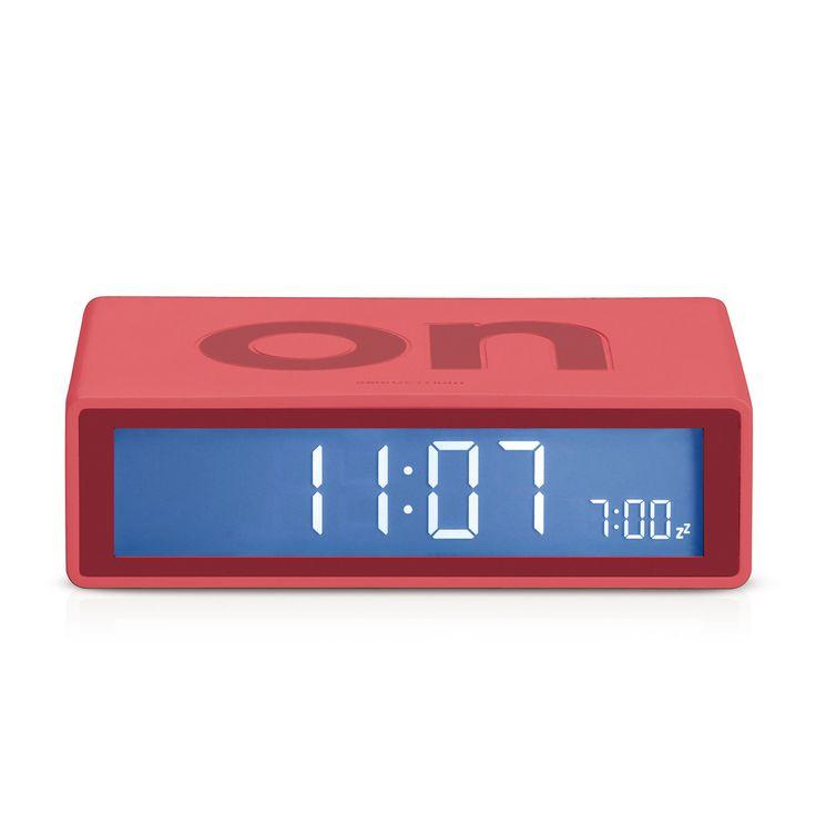 Flip Alarm Clock (Red)
