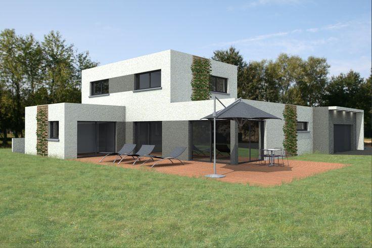 23 best plan étage images on Pinterest Blueprints for homes, Floor - simulation maison a construire