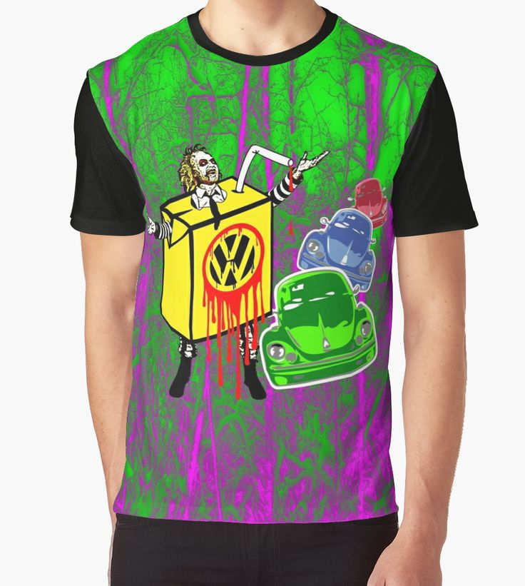 BEETLE JUICE Graphic Pop Art T-shirt. @redbubble  #juice #beetle #cars #popart #boldcolor #straw #acidcolors #vwbeetle #volkswagen #retro #movies #films #horror #comedy #parody #beetlegeuse #beetlejuice #drinks #orangejuice #characters #screen