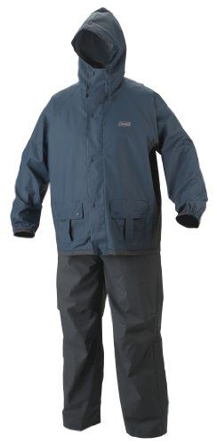 Coleman Men's .35mm PVC/Polyester Rain Suit *** READ ADDIITONAL INFO @:…