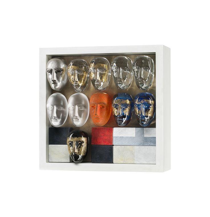 Brainstorm Play Limited Art glass, design by Bertil Vallien for Kosta Boda