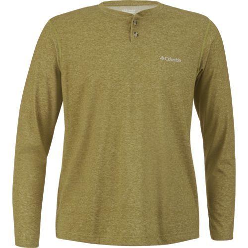 Columbia Sportswear Men's Thistletown Park Henley (Green Dark 02, Size Small) - Men's Outdoor Apparel, Men's Longsleeve Outdoor Tops at Academy Sports