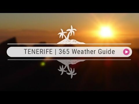 TENERIFE | Complete Weather Guide - YouTube http://www.youtube.com/watch?v=ah_8MXq5m8o&utm_content=buffer3caec&utm_medium=social&utm_source=pinterest.com&utm_campaign=buffer In this video we take you through Tenerife's weather, from sun to, well…more sun! The weather in Tenerife stays pretty much the same all year, but the climate does vary depending on where you are on the island.