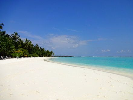 Ostseite - Meeru Island Resort