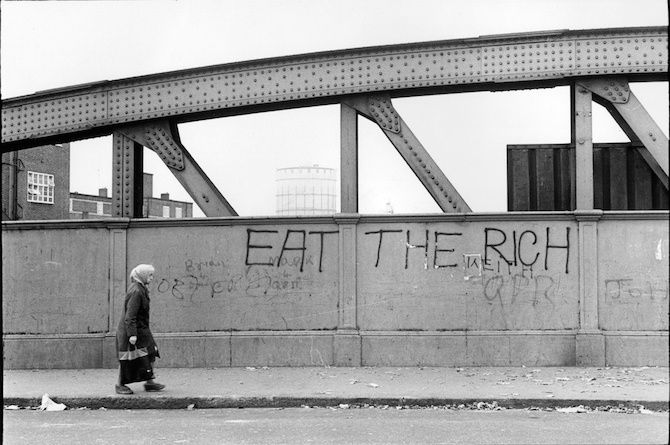 London's Original Graffiti Artists Were Poets, Playwrights and Political Revolutionaries