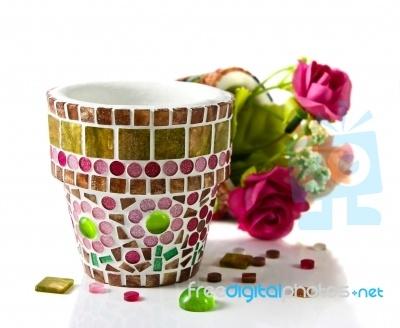 I Like That Mosaic Flower Pot!
