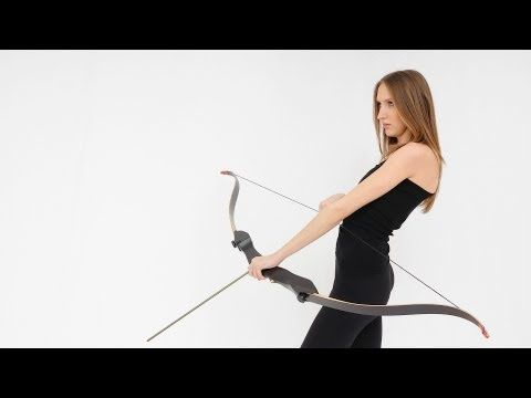 """How to Use a Recurve Bow 