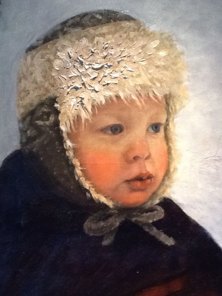 Portret of my sisters baby.  By Britt-Helen.