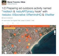 #eduARTpiracy hook: geolocalización y uso de las TIC