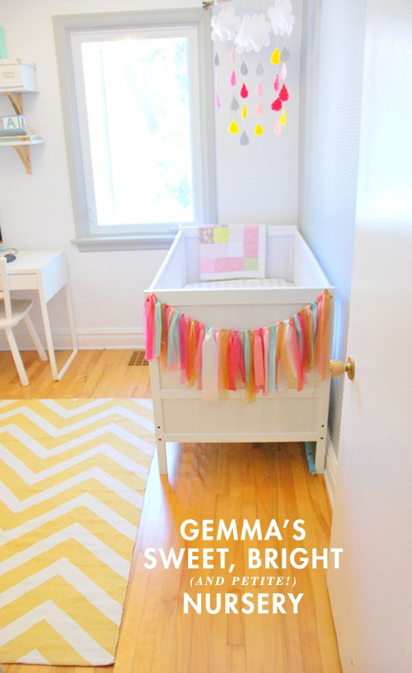 gemma's sweet (and petite!) nursery