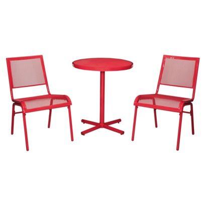 Best Fresh Red Bistro Set | Balcony Design Ideas OX09