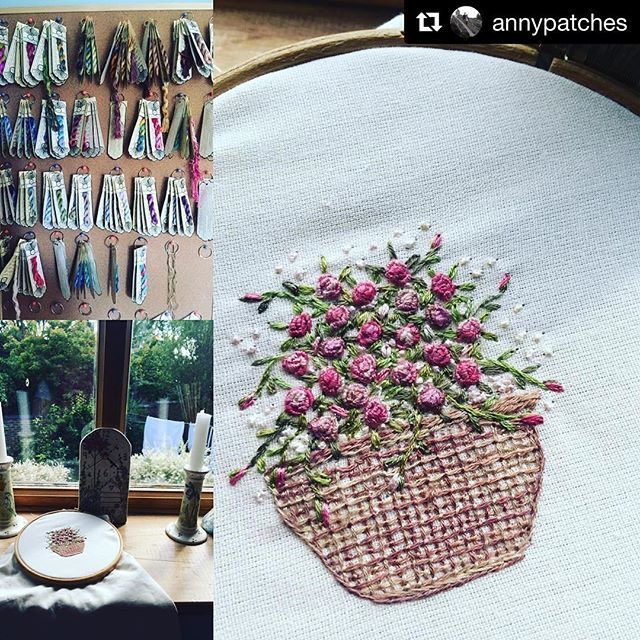 @annypatches #needlework #handembroidery #bordado #broderie #ricamo #embroidery