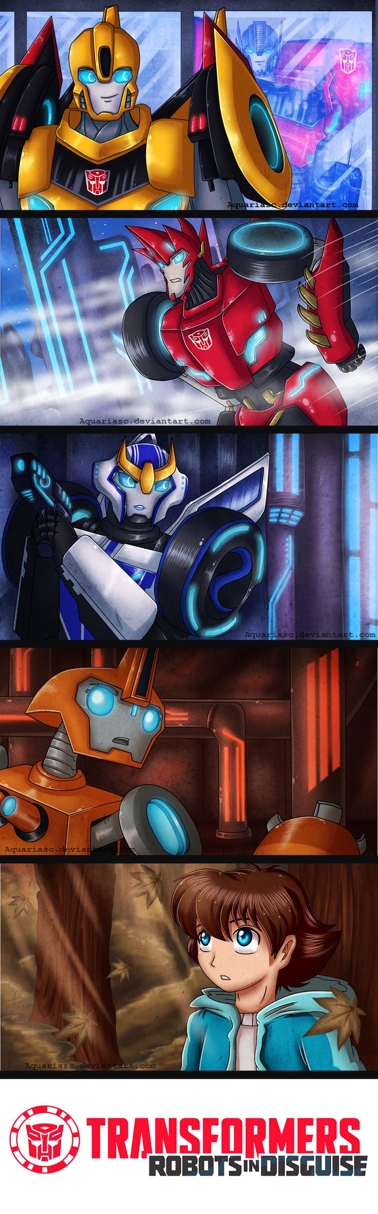.: Transformers: Robots in Disguise 2015 :. by AquariaSC.deviantart.com  FIXIT SO CUTE !!!!!!!