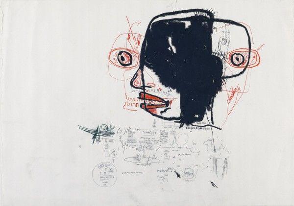 Jean-Michel Basquiat - Underground Art - Urban Art - Neo-Expressionism - Sans titre, 1985