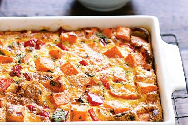 This frittata is perfect to pack in the lunch box and take to work or school.