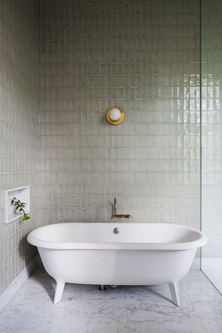 House miniature 1 12 scale bathroom walnut victorian bath tub amp boiler - Source Hecker Guthrie Via Dust Jacket I Love The Simplicity Of This Image Bathroom S Have To Be My Least Favourite Rooms In A House To Design And Or Spec