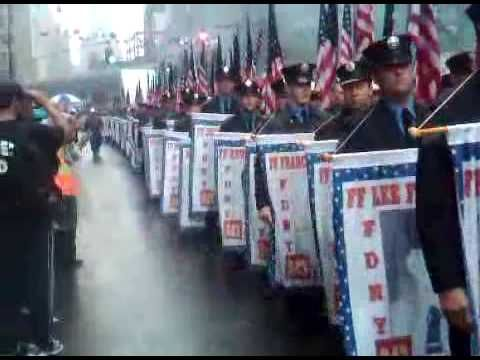 """FDNY """"SALUTE"""" TO THE 343 WHO WERE KILLED SEPT. 11TH   Tunnel to towers SILLER run/walk"""
