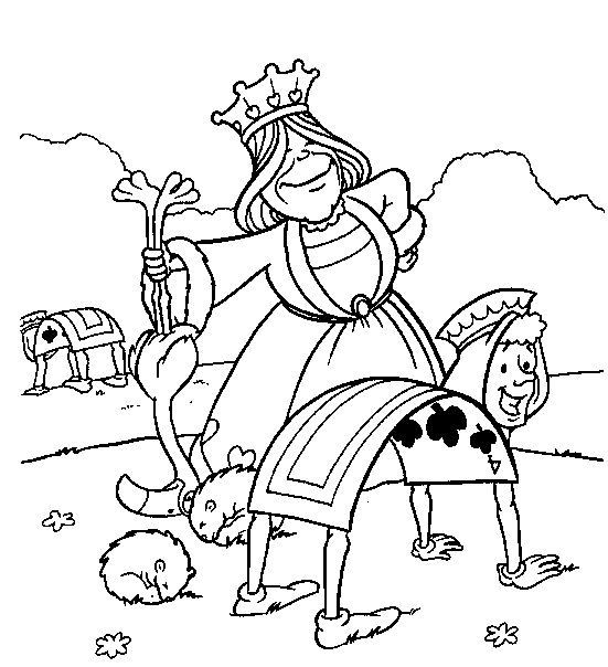 Trippy Alice In Wonderland Coloring Pages, Alice In Wonderland ...