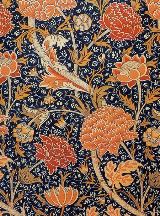 william morris an artist or craftsman of vessels William morris rose design william morris was an english textile designer, artist, writer, and socialist associated with the pre-raphaelite brotherhood and british arts and crafts movement he founded a design firm in partnership with.