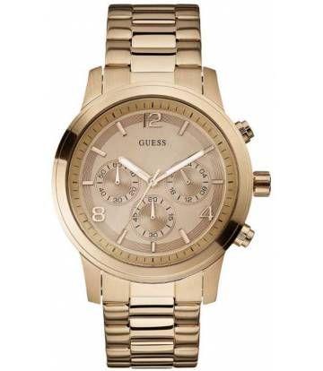 Reloj GUESS U16003G1 para Mujer Pulso Acero Inoxidable Dorado Cronografo