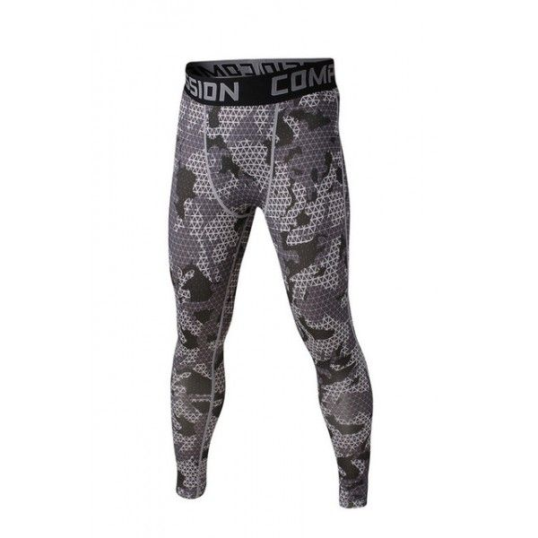 Gray Geometric Camouflage Men's Leggings Compression Tights Workout Bodybuilding Fitness 38.99 + FREE Shipping Worldwide http://www.letileggings.com/gray-geometric-camo-meggings #meggings #mensleggings #compressiontights #letileggings @letileggings