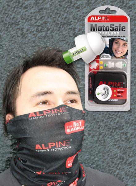 Free bandana with every set of Moto Safe earplugs. Ride in style!