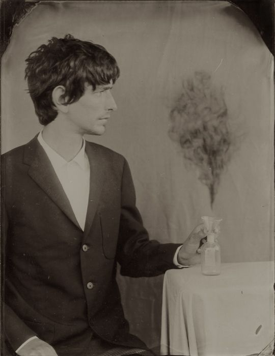 Self-Portrait As Alchemist, 2005, Ben Cauchi