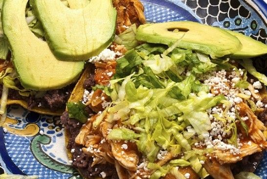 Chicken Tinga : Pati's Mexican Table - This stuff is delicious!!!  (and so easy)