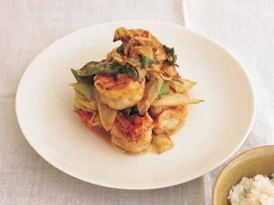 ケンタロウ さんのえびを使った「簡単えびマヨ」。えびとねぎをいためて、マヨネーズであえるだけ。えびを衣揚げしないので、あっさりめの仕上がりです。 NHK「きょうの料理」で放送された料理レシピや献立が満載。
